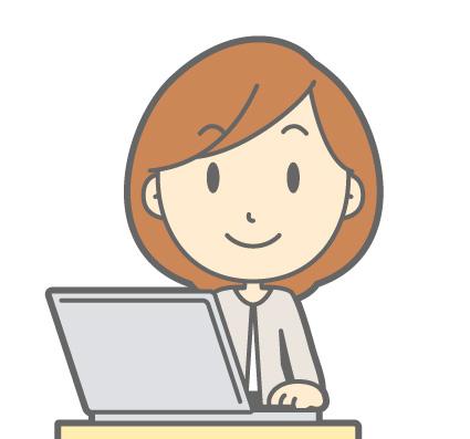 PC操作 女性